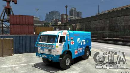 KAMAZ 4911 Rally MASTER pour GTA 4