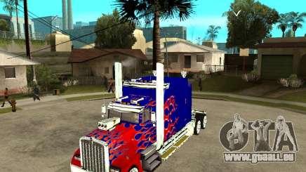 Truck Optimus Prime für GTA San Andreas