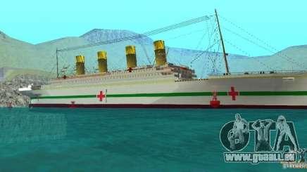 HMHS Britannic für GTA San Andreas