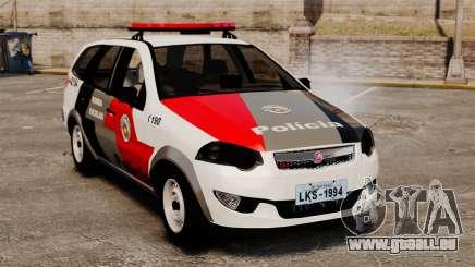 Fiat Palio Weekend Trekking 2013 PMESP ELS pour GTA 4