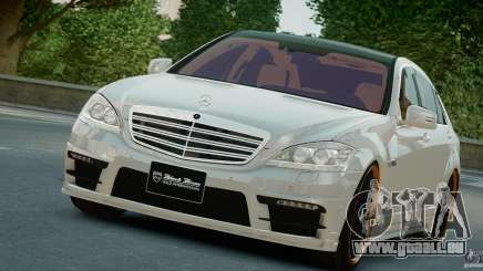 Mercedes-Benz S Class W221 Black Bison 2009 für GTA 4