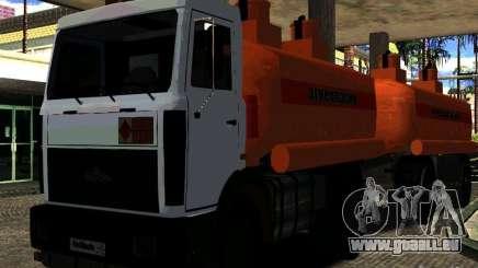 MAZ 533702 camion pour GTA San Andreas