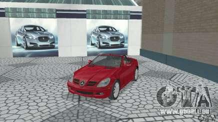 Mercedes-Benz SLK 350 pour GTA San Andreas