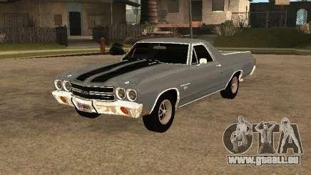 Chevrolet El Camino SS 454 1970 pour GTA San Andreas
