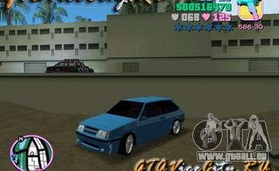 VAZ Lada 2108 Samara pour GTA Vice City