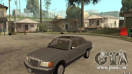 Mercedes Benz W126 560 1990 pour GTA San Andreas