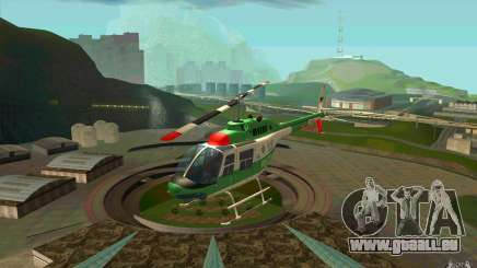 Bell 206 B Police texture3 pour GTA San Andreas