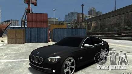 BMW 750 LI F01 v1.3 pour GTA 4