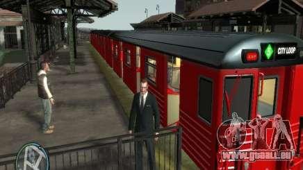 Redbird train v1.0 pour GTA 4