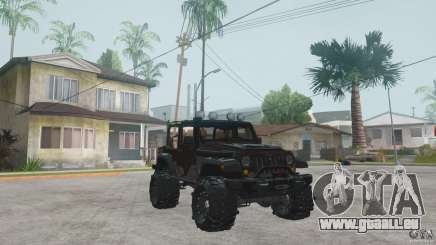 Jeep Wrangler Off road v2 pour GTA San Andreas