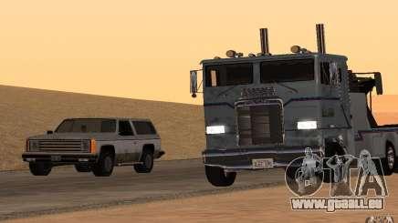 Kenworth K100 Towtruck für GTA San Andreas