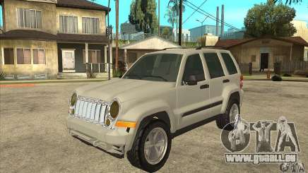 Jeep Liberty 2007 Final pour GTA San Andreas
