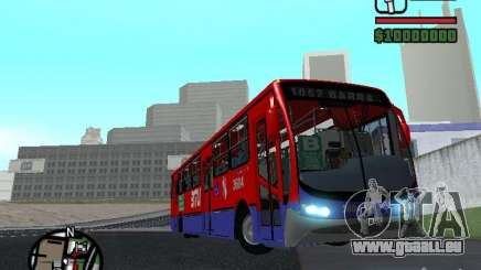 Busscar Urbanuss Pluss VW 17-230 EOD Alongado für GTA San Andreas