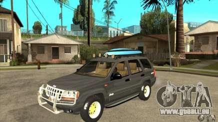 Jeep Grand Cherokee 2005 pour GTA San Andreas