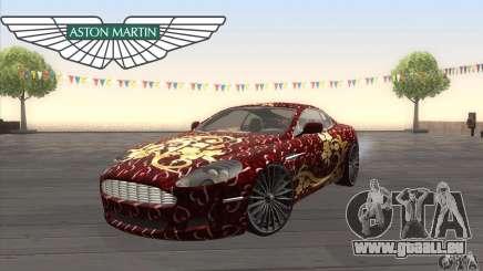 Aston Martin DB9 Female Edition für GTA San Andreas