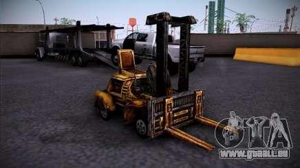 Chariot élévateur du TimeShift pour GTA San Andreas