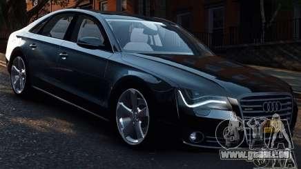 Audi A8 2010 V8 FSI pour GTA 4
