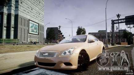 Infiniti G37 Coupe Sport pour GTA 4