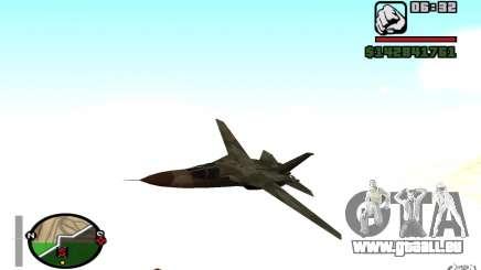 F-111 Aardvark für GTA San Andreas