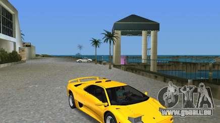 Lamborghini Diablo SV für GTA Vice City