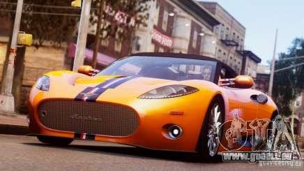 Spyker C8 Aileron Spyder Final für GTA 4