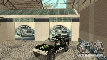 Hummer H3 Baja Rally Truck für GTA San Andreas
