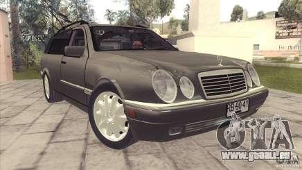 Mercedes-Benz E320 Funeral Hearse pour GTA San Andreas