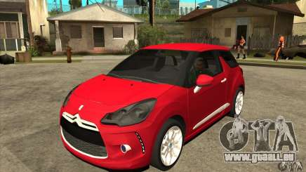 Citroen DS3 2011 pour GTA San Andreas