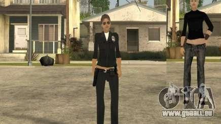 Peau de jeune fille DD pour GTA San Andreas