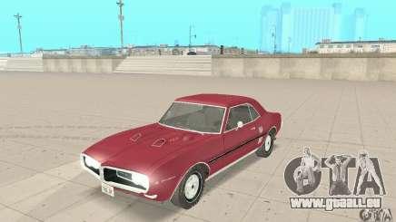 Pontiac Firebird 1968 für GTA San Andreas