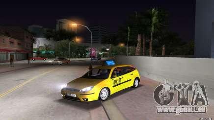 Ford Focus TAXI cab für GTA Vice City
