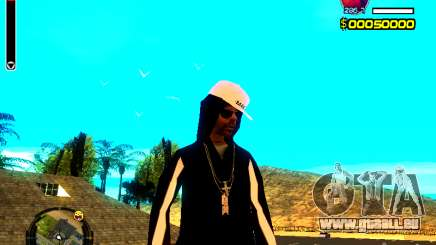 Peau bum v8 pour GTA San Andreas