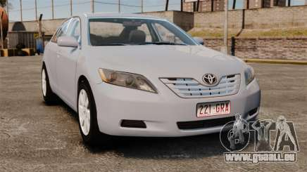 Toyota Camry Altise 2009 pour GTA 4