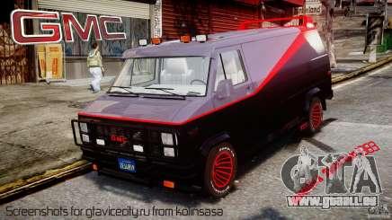 GMC Vandura A-Team Van 1983 pour GTA 4