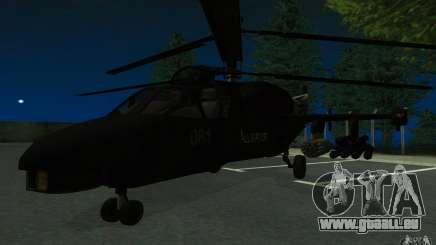 KA-52 ALLIGATOR v1.0 pour GTA San Andreas