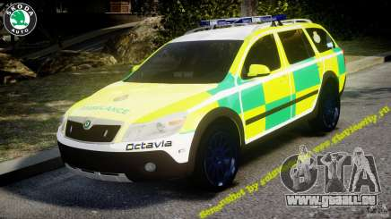 Skoda Octavia Scout Paramedic [ELS] pour GTA 4