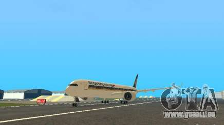 Airbus A350-900 Singapore Airlines pour GTA San Andreas