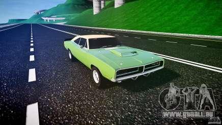 Dodge Charger RT 1969 tun v1.1 für GTA 4