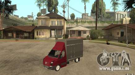 Volkswagen Crafter Case Closed pour GTA San Andreas