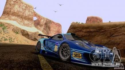 Peinture fonctionne McLaren MP4-12 c Speedhunters pour GTA San Andreas