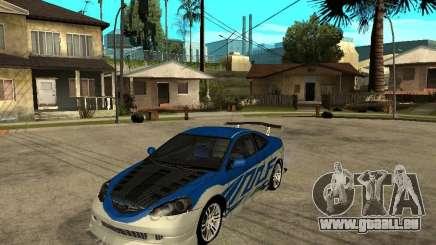 Acura RSX Shark Speed pour GTA San Andreas