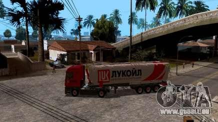 Trailer de Lukoil pour Mercedes-Benz Actros pour GTA San Andreas