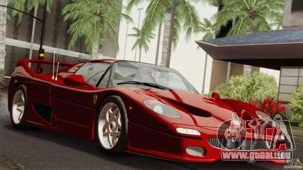 Ferrari F50 v1.0.0 Road Version für GTA San Andreas