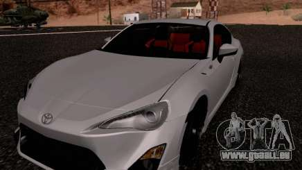 Toyota 86 TRDPerformanceLine 2012 für GTA San Andreas