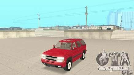 Chevrolet Tahoe 1992 pour GTA San Andreas