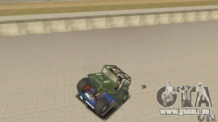 Jeep Willys Rock Crawler für GTA San Andreas