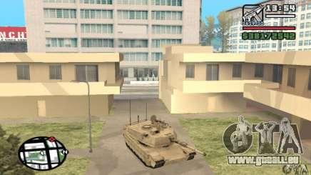 M1A2 Abrams TUSK pour GTA San Andreas