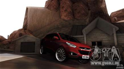 Hyundai iX35 Edit RC3D für GTA San Andreas