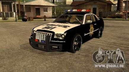Chrysler 300C Police pour GTA San Andreas