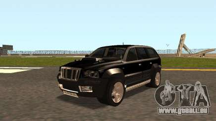 Jeep Grand Cherokee Black pour GTA San Andreas